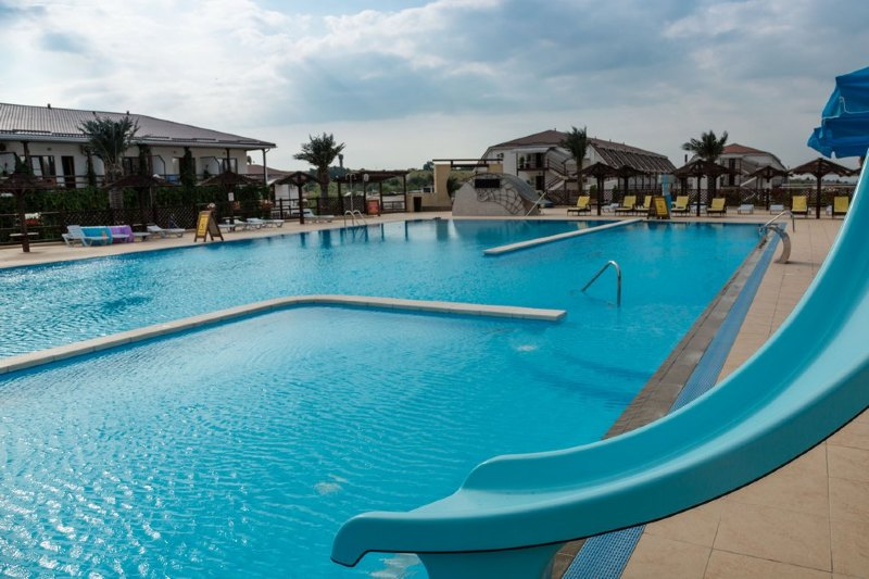 Отель Tizdar Family Resort & Spa Темрюк территория - 13